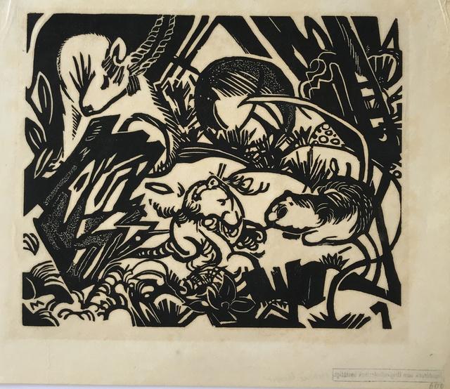 Franz Marc, 'Tierlegende (Animal Legend)', 1912, Alice Adam Ltd.