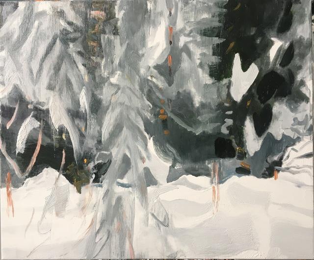 , 'Silver Hemlocks,' 2017, Tayloe Piggott Gallery