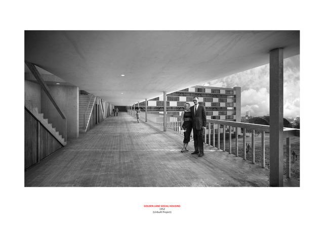 Dionisio Gonzalez, 'Golden Lane Social Housing 2', 2018, Maddox Arts