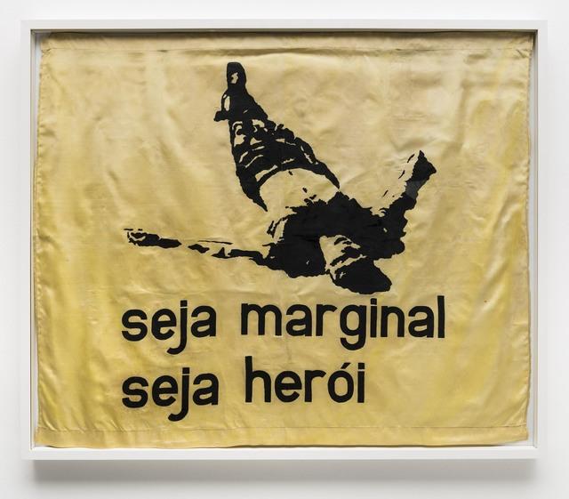 , 'Seja Marginal Seja Herói,' 1986, Bergamin & Gomide
