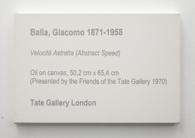 , 'LCM, Balla, Giacomo, Velocitá astratta (Abstract Speed), 1913,' 2009, OSL Contemporary