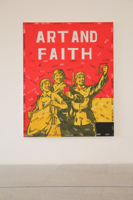 , 'Great Criticism - Art and Faith,' 2006, Sifang Art Museum