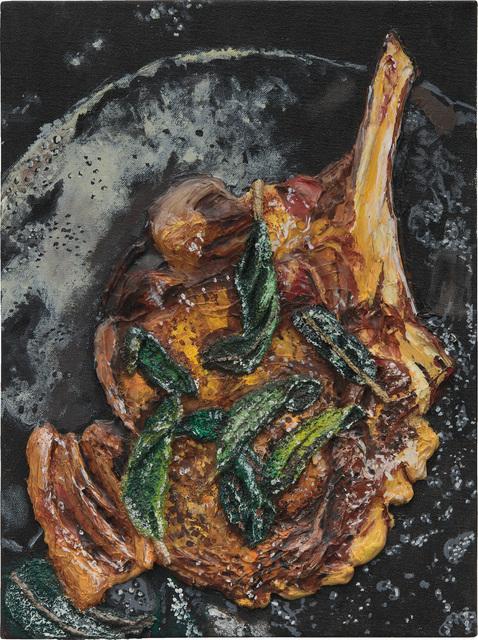 Gina Beavers, 'Pork Chop and Basil', 2012, Painting, Acrylic on canvas, Phillips