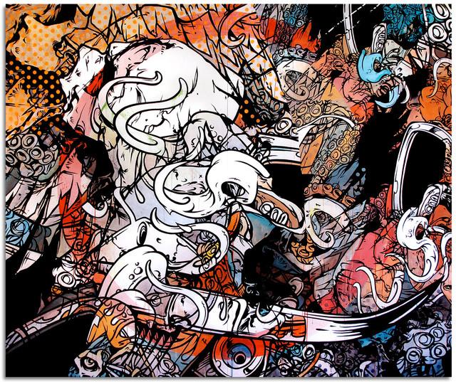 Tanner Goldbeck, 'Socrates', 2014, Disruptive Canvas