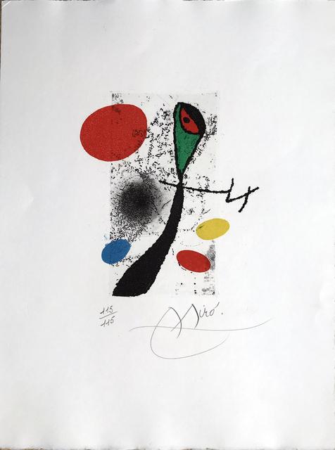 , 'Le Vent Parmi les Roseaux - Tailpiece (signed),' 1971, Fairhead Fine Art Limited