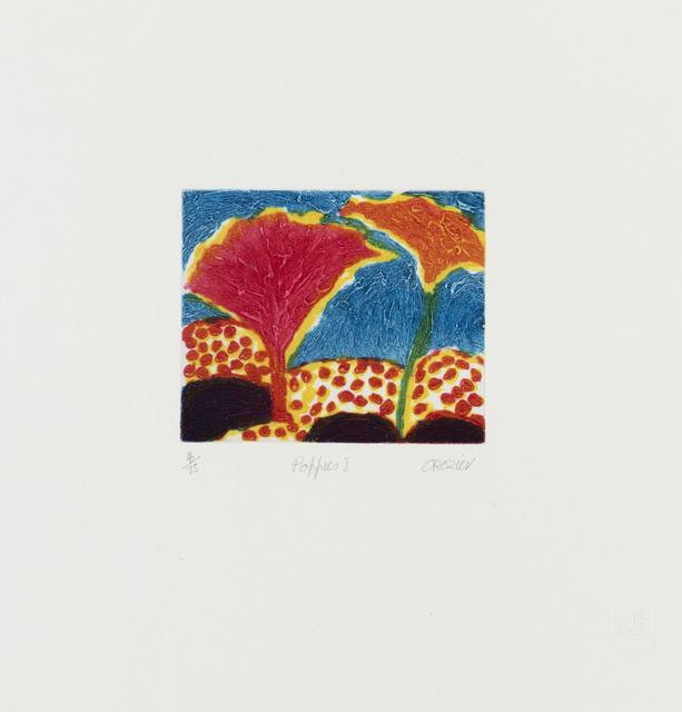 , 'Poppies I,' c.1994, Flowers