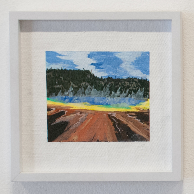 , 'Yellowstone (grand prismatic),' 2016, Fort Worth Contemporary Arts