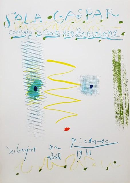 Pablo Picasso, 'Sala Gaspar: Dibujos de Picasso', 1961, Graves International Art