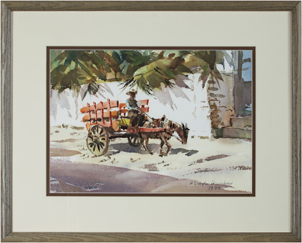 , 'The Orange Cart, Mazatlan, Mexico,' 1994, David Barnett Gallery
