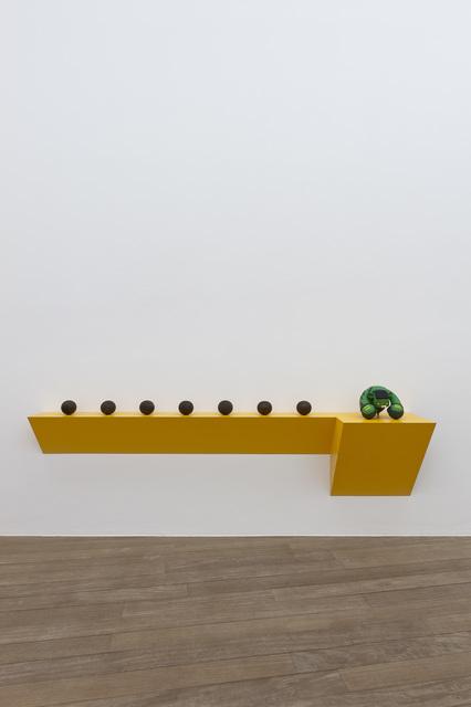 , 'Untitled (7 bocci balls, Hulk),' 2012, Galerie Laurent Godin