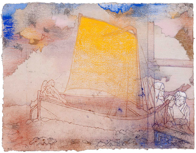 , 'STORMS: Yellow Sail (après Redon),' 2011, Kent Fine Art