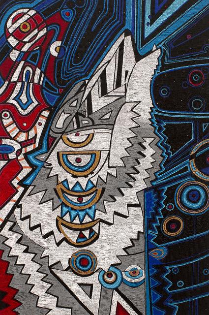 , 'Super Wolf Blood Moon,' 2019, Blue Rain Gallery