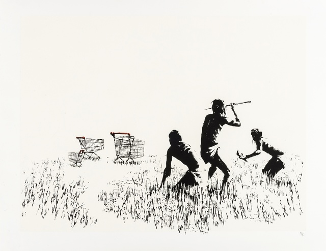 Banksy, 'Trolleys', 2006, Forum Auctions