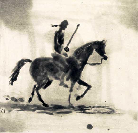 , 'Equestrian,' 2006, Crown Point Press