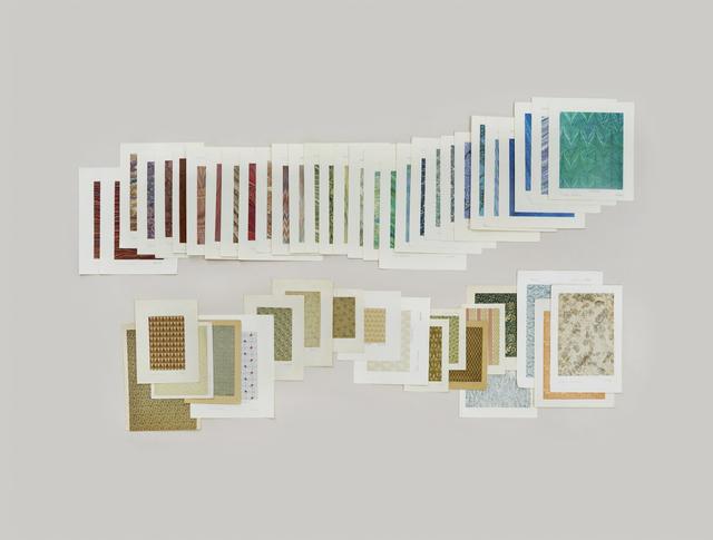 , 'Folder: Paper — Endpapers,' 2012, Gagosian