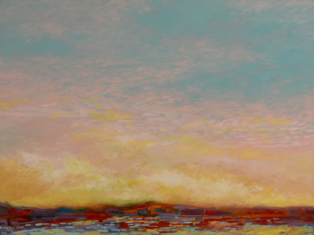 , 'Morning Sun Far Shore,' 2019, InLiquid