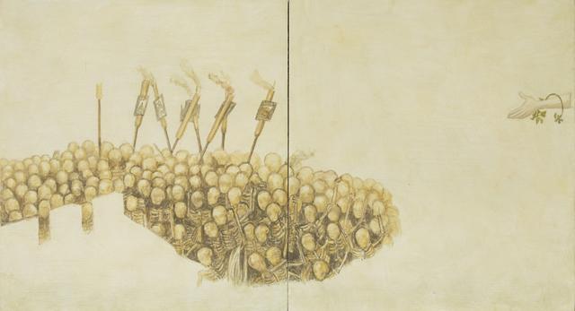 , 'Fragmento VI a partir del trabajo de Pieter Brueghel el Viejo,' 2016, Galería La Caja Negra