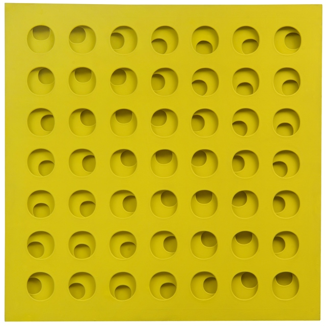 , 'Intersuperficie curva dal giallo,' 1965, Tornabuoni Art