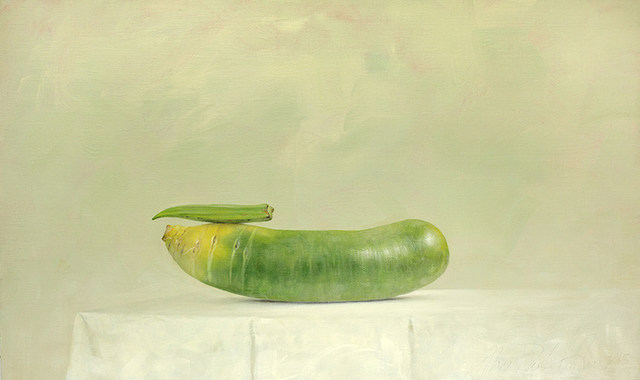 , 'Okra and Green Radish,' 2015, Galerie Huit