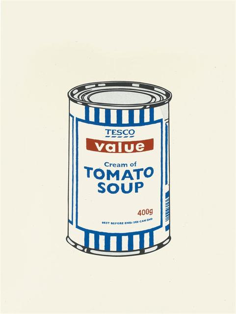 Banksy, 'Soup Can (Original Colour) - Unsigned', 2005, Hang-Up Gallery
