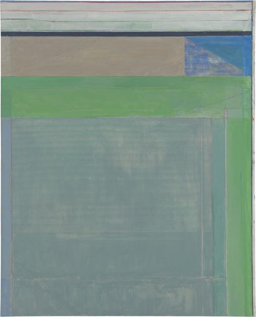 Richard Diebenkorn, 'Ocean Park #115', 1979, Painting, Oil and charcoal on canvas, Richard Diebenkorn Foundation