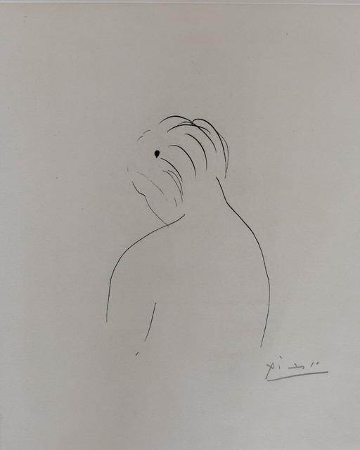 Pablo Picasso, 'Nude Back   Nu de Dos', 1943, Gilden's Art Gallery