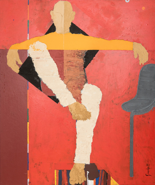 , 'Descanso Cromatico,' N/A, Galeria Oscar Roman
