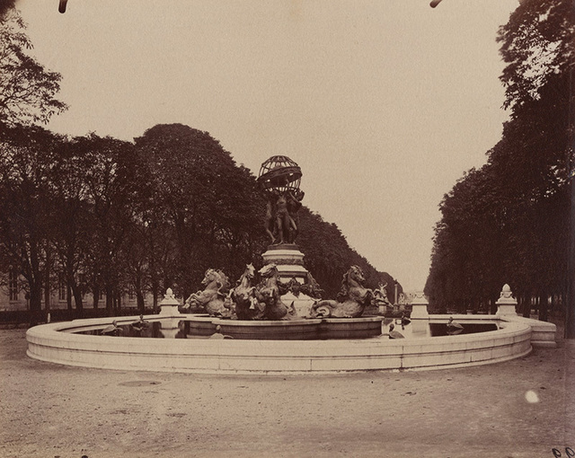 , 'Fontaine des Quatre-Parties-du-Monde, Jardin Marco Polo, Paris,' 1907/1907c, Contemporary Works/Vintage Works