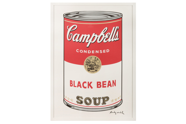Andy Warhol, 'Campbell's Soup - Black Bean', Chiswick Auctions
