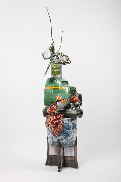 , 'Carp & Compressor,' 2014, Arario Gallery