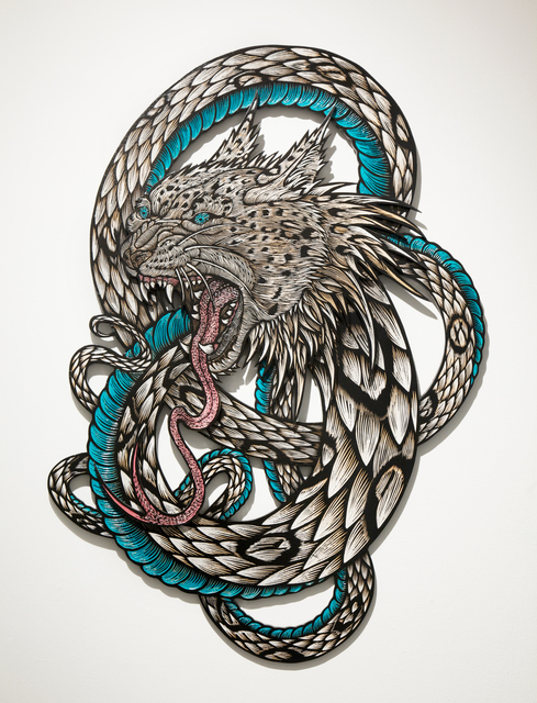 , 'Wolfbat Leopardsnake,' 2013, Jonathan LeVine Projects