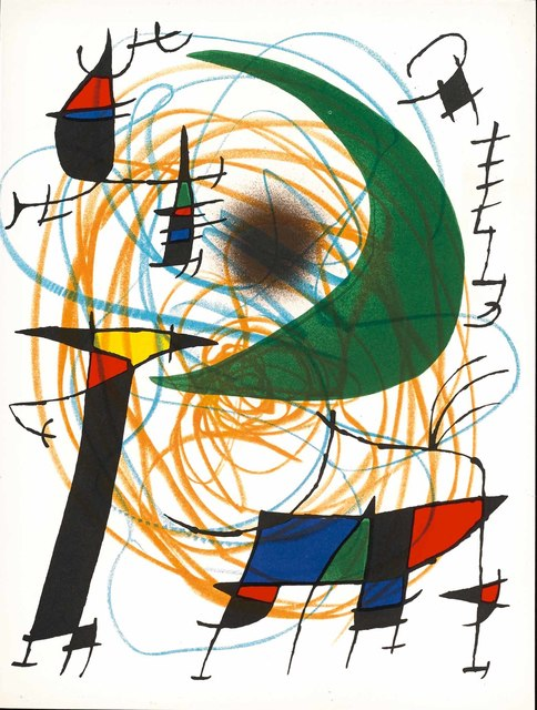 Joan Miró, 'Untitled (Lithographe I, M.861)', 1972, Martin Lawrence Galleries