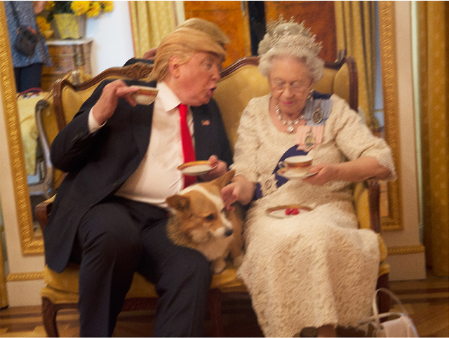 , 'Trump and Queen,' ca. 2018, Ostlicht. Gallery for Photography
