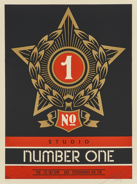 Shepard Fairey, 'Studio Number One', 2004, Rago/Wright