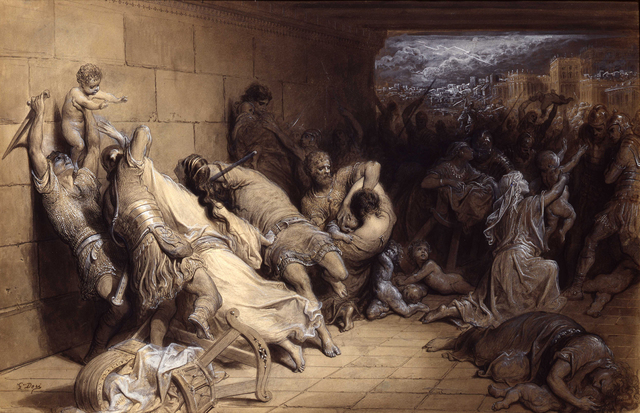 , 'Massacre of the Innocents ,' ca. 1869, New York Academy of Art