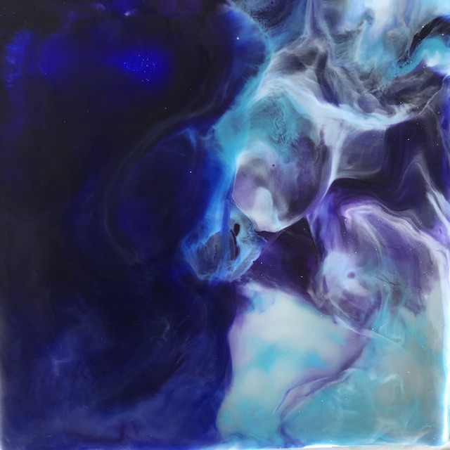 , 'Encaustic Oceans 2,' 2018, Art Gallery Pure
