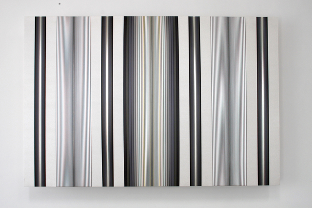 , 'Untitled (silver and grey),' 2015, Ochi Projects