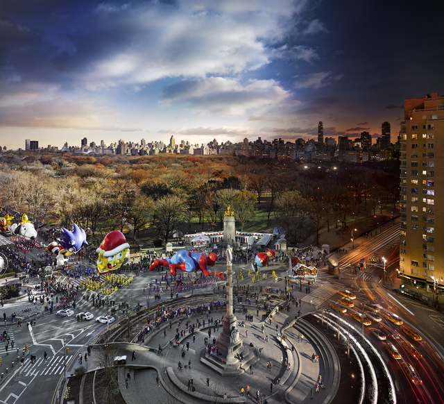 Stephen Wilkes Macy S Thanksgiving Day Parade New York 2013 Available For Sale Artsy