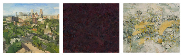 , 'City in Three States (Triptych) ,' , Gallery 1261