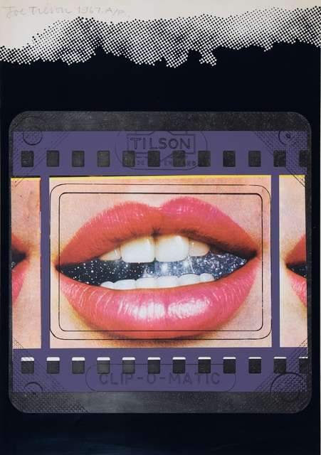 , 'Clip-O-Matic Lips – Transparency,' 1967, William Weston Gallery Ltd.