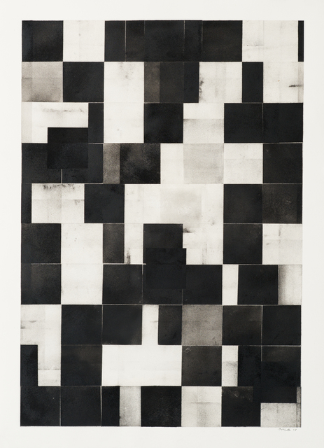 , 'Grid Drawing (Large 1),' 2015, Bentley Gallery