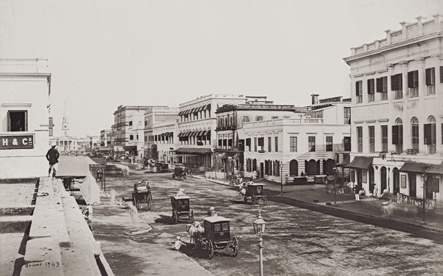 , 'Old Court House Street ,' 1865, Getty Images Gallery