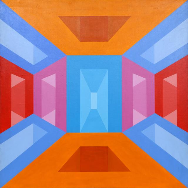 Roy Ahlgren, 'Portals', 1971, Painting, Acrylic on canvas, RoGallery