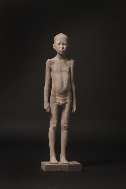 Mario Dilitz, 'No. 159', 2016, Sculpture, Oak and black glue, Victor Lope Arte Contemporaneo