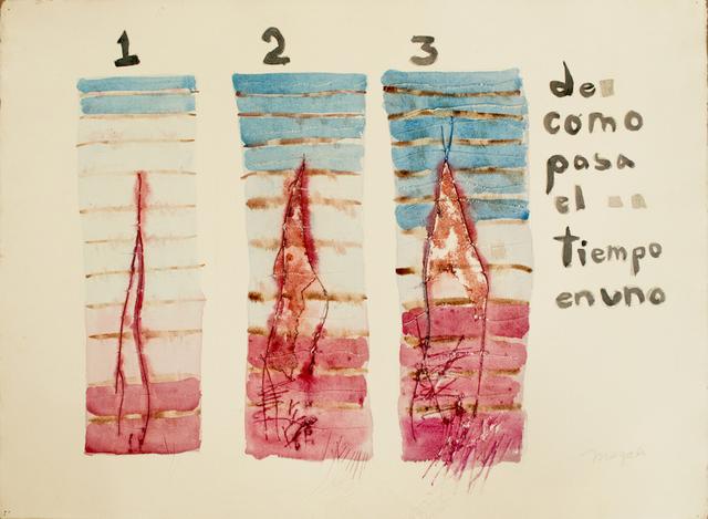 , 'De como pasa el tiempo en uno,' 1978, WALDEN