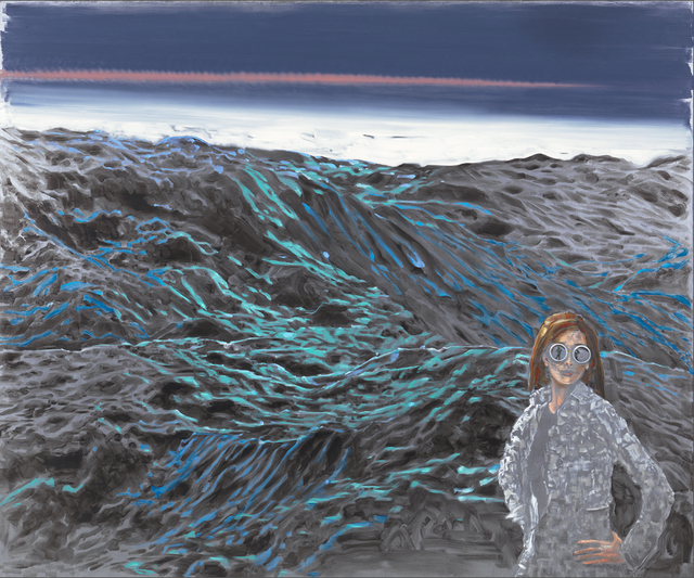 , 'don't bother me with that ocean,' 2012, Gaa Gallery