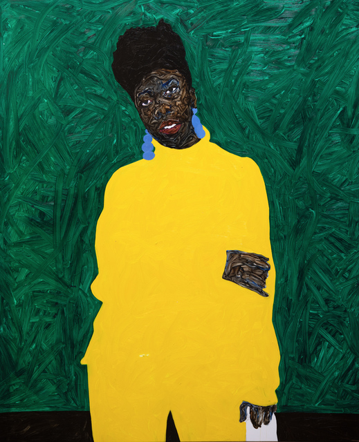 , 'Cobalt Blue Earring,' 2019, Mariane Ibrahim Gallery