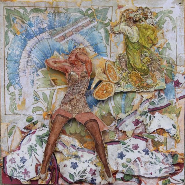 , 'El purgatorio canto III,' 2017, Galería Quetzalli