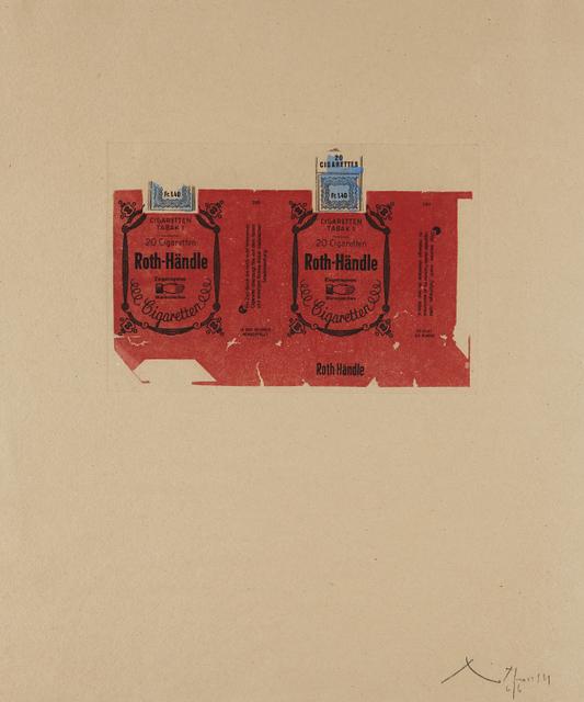 Robert Motherwell, 'Roth Handle II (Crimson)', 1975, Phillips