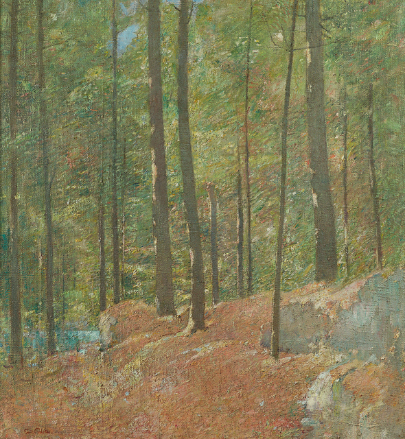 , 'Pine Woods,' , Questroyal Fine Art